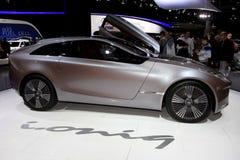 The Hyundai i-oniq Concept Stock Photo
