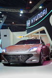 Hyundai i-oniq Concept Stock Photo