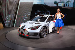 2015 Hyundai i20 WRC Stock Foto