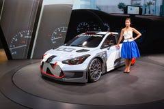 2015 Hyundai i20 WRC Stock Photo