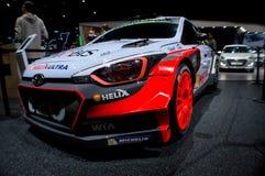Hyundai i20 WRC Geneva 2016 Royalty Free Stock Image