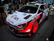 Hyundai i20 WRC Geneva 2016 Stock Photo