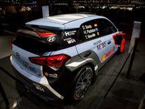 Hyundai i20 WRC Geneva 2016 Stock Photography