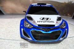 The Hyundai i20 WRC Royalty Free Stock Photography