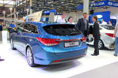 Hyundai i40 Royalty Free Stock Photos
