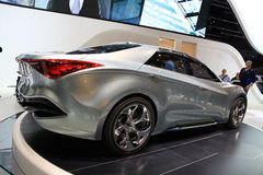 Hyundai Io-Scorre Fotografia Stock