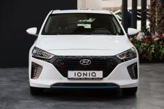 Hyundai Ioniq Royalty-vrije Stock Fotografie
