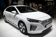 Hyundai IONIQ elektrisch stockfotos