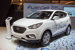 Hyundai ix35 Fuel Cell Stock Images