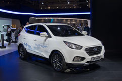 Hyundai IX35 Fuel Cell Stock Photos