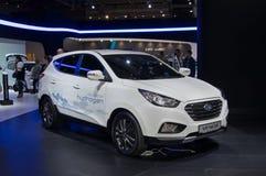 Hyundai IX35 Fuel Cell Stock Photos