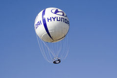 Hyundai logo na balonie Fotografia Royalty Free