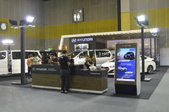 Hyundai Motor shop of FAST Auto Show Thailand 2016 Stock Image