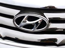 Hyundai Motorlogo Stock Images