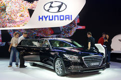 Hyundai-Ontstaan royalty-vrije stock fotografie