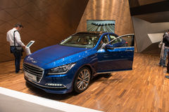 Hyundai-Ontstaan royalty-vrije stock foto