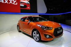 Hyundai op CDMS 2012 Stock Foto's