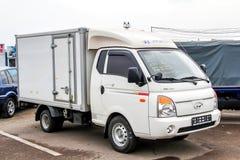 Hyundai portvakt Arkivbilder