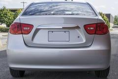 Hyundai rear end stock photo