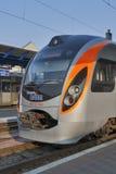 Hyundai Rotem train royalty free stock image