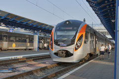Hyundai Rotem train Stock Images