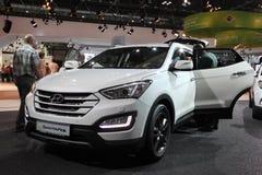 Hyundai Santa Fe SUV agli AMI Lipsia, Germania Immagini Stock Libere da Diritti