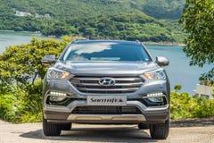 Free Hyundai Santafe 2017 Test Drive Day Stock Image - 107256061