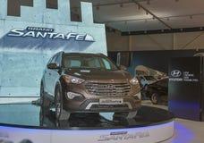 Hyundai SantaFe Grand car model presentation Royalty Free Stock Image