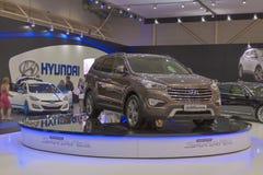 Hyundai SantaFe Grand car model presentation Royalty Free Stock Photos