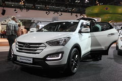 Hyundai SantaFe SUV at the AMI. Leipzig, Germany Royalty Free Stock Images
