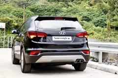 Hyundai SantaFe 2015 Test Drive Day Stock Images