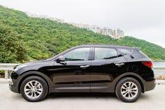 Hyundai SantaFe 2015 Test Drive Day Stock Photo