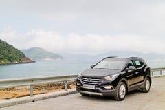 Hyundai SantaFe 2015 Test Drive Day Royalty Free Stock Images