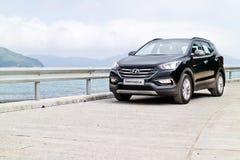 Hyundai SantaFe 2015 Test Drive Day Stock Photos