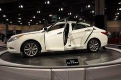 Hyundai Sonata. On display at the Arizona International Auto Show on November 25, 2010 in Phoenix, Arizona royalty free stock photography