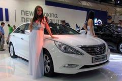 Hyundai Sonata Stock Photo