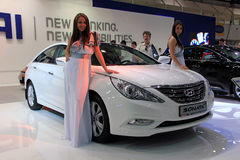 Hyundai Sonata Royalty Free Stock Photo