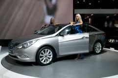 Hyundai Sonata - russian premiere Stock Image