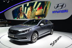 HYUNDAI Sonata saloon car Royalty Free Stock Image