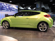 Hyundai Sports Coupe Stock Photo