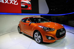 Hyundai sur CDMS 2012 Photos stock