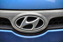 Hyundai symbol Stock Photo