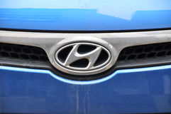 Hyundai symbol Royalty Free Stock Photography