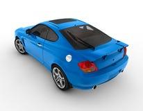 Hyundai Tuscani Elisa (2003) Royalty-vrije Stock Afbeeldingen