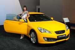 Hyundai uppkomstCoupe Royaltyfri Fotografi