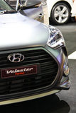 Hyundai Veloster Royalty-vrije Stock Afbeeldingen