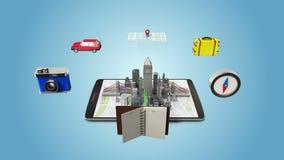 Hyvla för att resa staden, semester, turnerar mobilt tillträde direktanslutet
