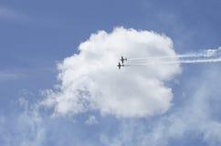 Hyvlar akrobatik Arkivbilder