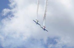 Hyvlar akrobatik Royaltyfri Foto