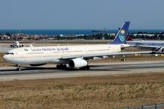 HZ-AQD Saudi Arabian Airlines, Airbus A330-300 Stock Images
